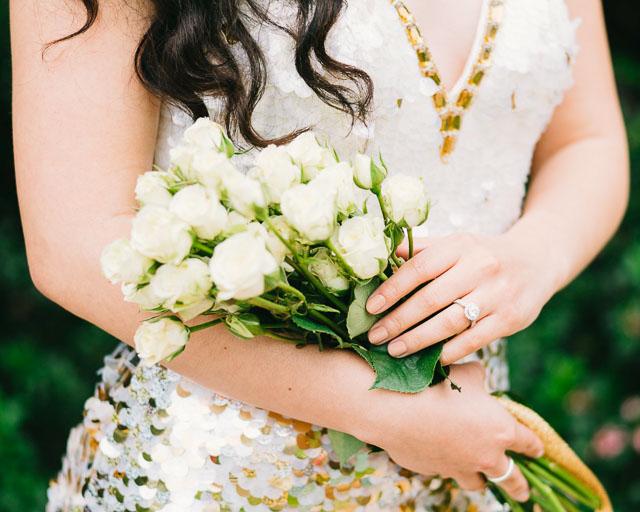 engagements portfolio orange county laguna beach ring roses dress nails